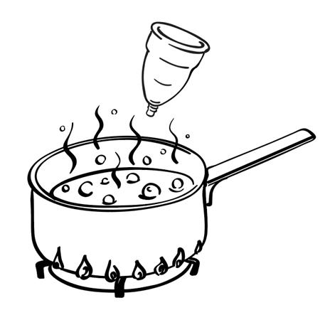 Vệ sinh cốc nguyệt san sai cách và Những sai lầm thường gặp khi sử dụng cốc nguyệt san?