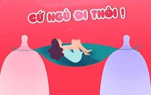Cốc nguyệt san có thể đeo khi ngủ không?