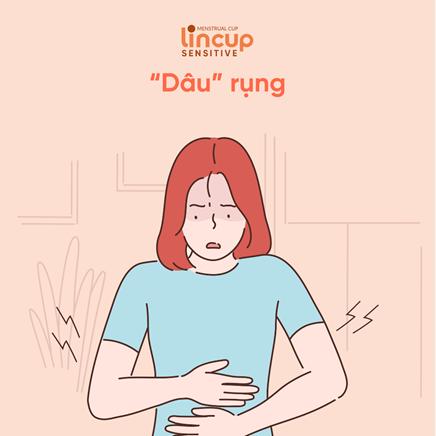 cốc nguyệt san giảm đau bụng kinh