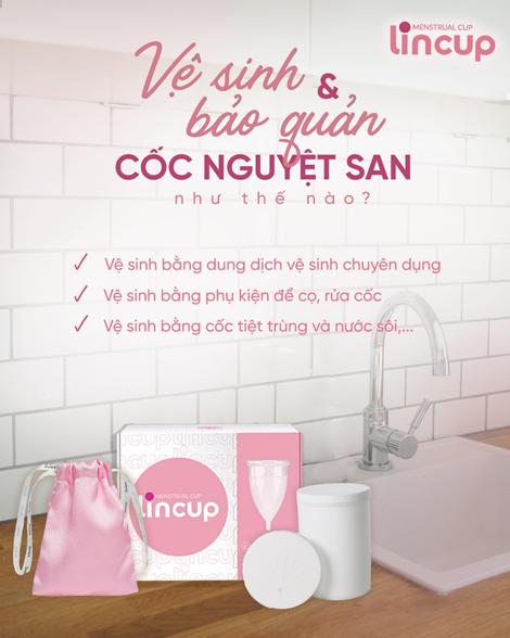 Cách vệ sinh và bảo quản cốc nguyệt san
