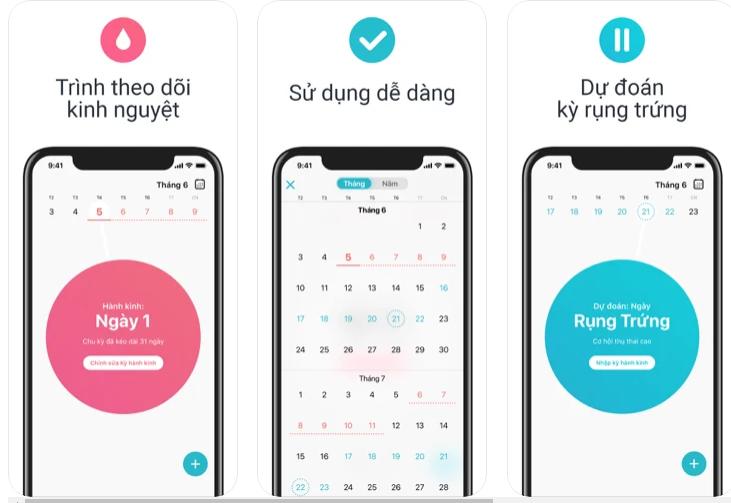 Top 7 app theo dõi kinh nguyệt có sẵn, miễn phí hot nhất 2021