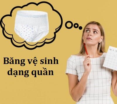 Băng vệ sinh dạng quần